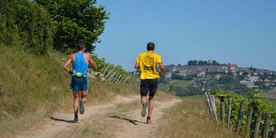 Trail Sancerre, course a Sancerre